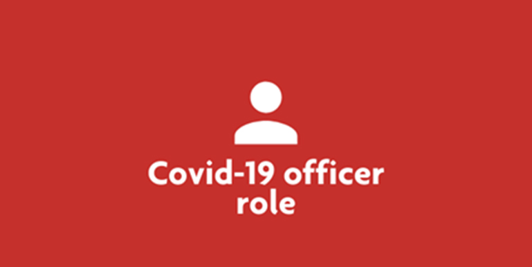 Tile Covid 19 officer role