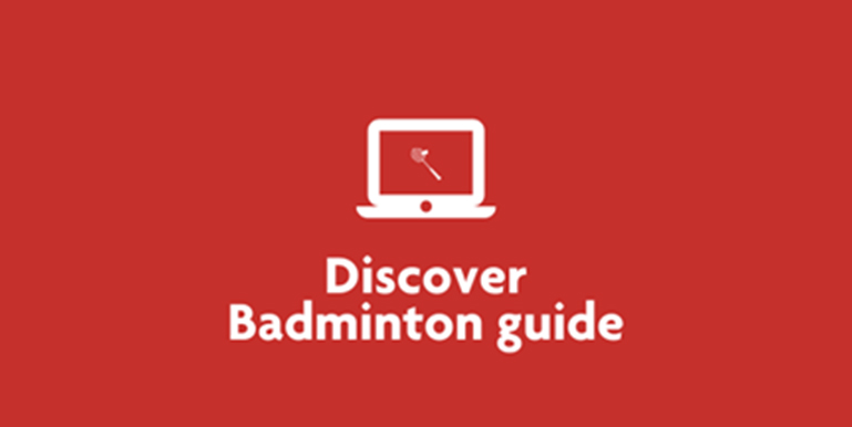 Tile Discover badminton guide