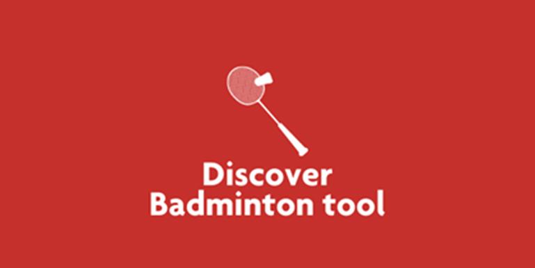 Tile Discover badminton tool
