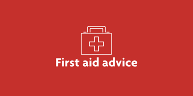 Tile First aid advice statement