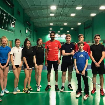 Volunteer In Badminton Banner | Badminton England