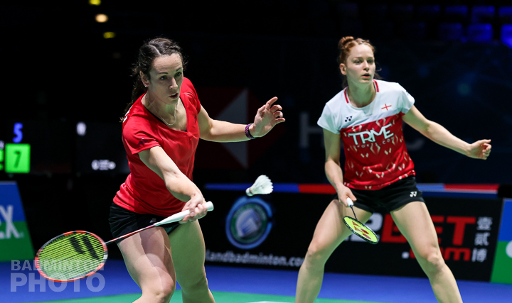 Birch and Smith embrace clash with world No.1's at YONEX All England
