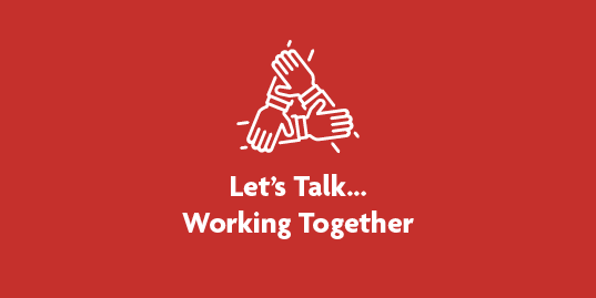 Lets Talk Working Together 1