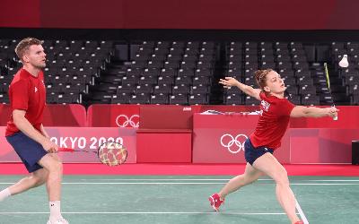 Lauren Smith Marcus Ellis match two Tokyo